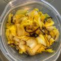 白菜と塩昆布のナムル