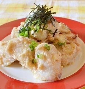晩ご飯やおつまみに!「鶏むね肉の明太子マヨネーズ」