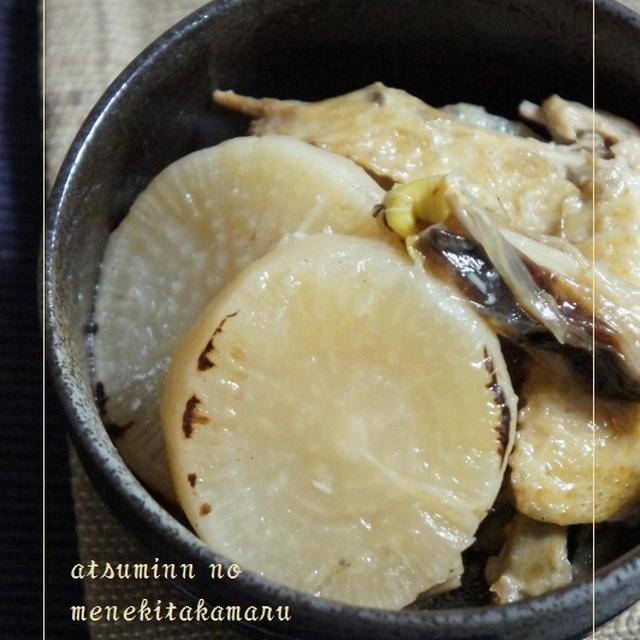圧鍋ですぐ!焼き大根のあっという間の含め煮&サルシッチャとごろっと玉ねぎの柔らか煮