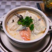 大根と鮭の豆乳酒粕スープ…お味噌でも♪