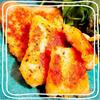 白身魚の香草チーズパン粉焼き