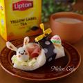 イースターウサギのサンドシナイッチ☆紅茶でひらめきのある朝を♪リプトンひらめき朝食レシピ(その14) by めろんぱんママさん
