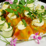 【簡単!!美味しい!!充実野菜deパーティーゼリー】