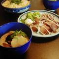 鰤の粕汁と簡単散し寿司
