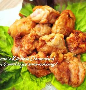 【主菜】唐揚げをもっと美味しくする隠し味♡サクサク基本の鶏のから揚げ