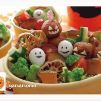 ハロウィンのデコちらし寿司