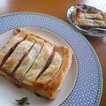 クリームチーズ&ストロベリーパイ