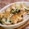 【サク飯】たけのこ水煮のバター醤油チーズ焼き&「土鍋がふたつ」