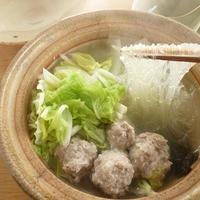 白菜と豚肉の塩鍋
