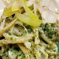 [湿気た海苔をパスタに再利用] 〜3種の海苔のクリームスパゲッティ〜