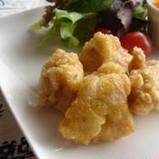柚子胡椒風味!ジューシー唐揚げ。