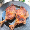 フライパンで簡単ローストチキン(クリスマス)(鶏肉)