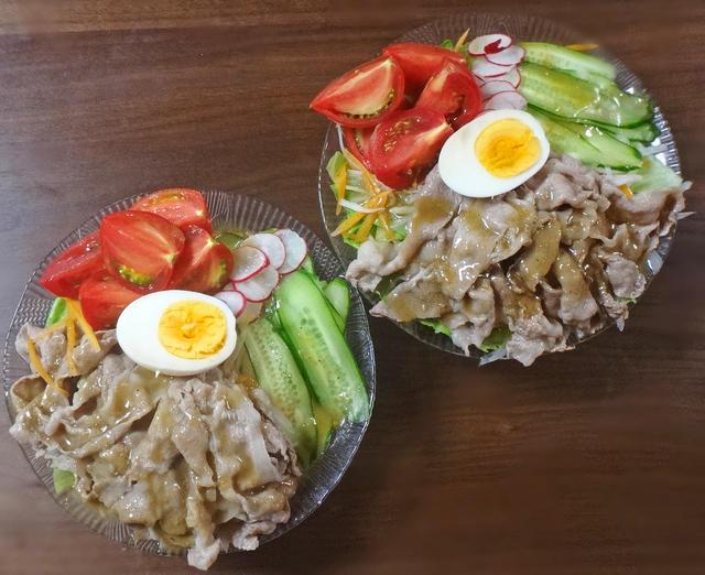 16. バランス◎牛肉冷しゃぶサラダ
