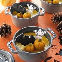 ハロウィンに♪ ジンジャー風味のかぼちゃプリン