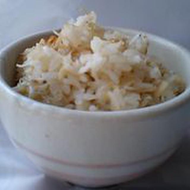 しらすとホタテの炊き込みご飯の簡単料理レシピ&ダイエットワンポイントアドヴァイス