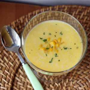 ひんやりおいしい!「冷製コーンスープ」を作ってみよう♪