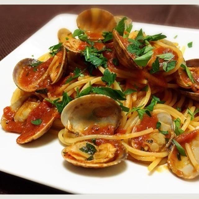 スパゲッティ ボンゴレ ロッソ