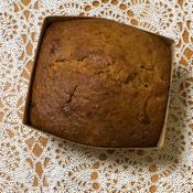 シナモンバナナハニーのパウンドケーキ