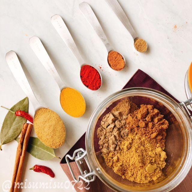 辛くない!スパイス7種の自家製カレー粉
