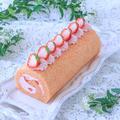 【レシピ】苺づくしのロールケーキ