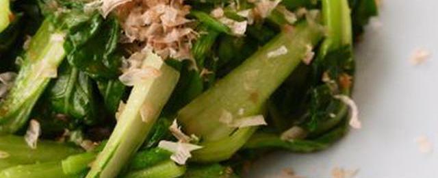 あと一品に便利!「チンゲン菜×かつお節」のおすすめレシピ
