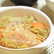 野菜のうま味たっぷり☆鮭のちゃんちゃん焼き風
