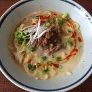 【インスタントラーメンアレンジレシピ】肉味噌豆乳担々麺と、とろたまひき肉の酸辣湯*ラ王袋麺
