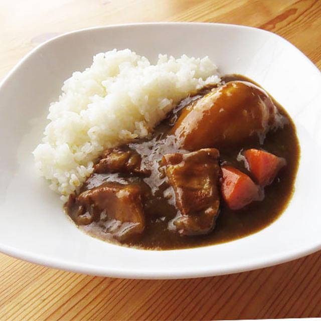 角煮の茹で汁で絶品カレー