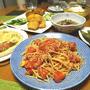 春の美味しさ凝縮&パワー充填!鶏レバーカツ&オニオンフライ、「しらすどっさりのトマトペペロンチーノ」、「あさりとピーマン&玉ねぎ/トマトしらすバジルピッツァ」