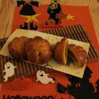 かぼちゃ・あんパン♪