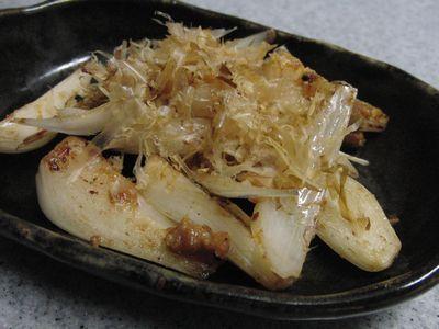 らっきょうの梅味噌炒め