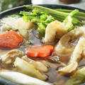 ■1月7日の朝ご飯【②きりたんぽ鍋】
