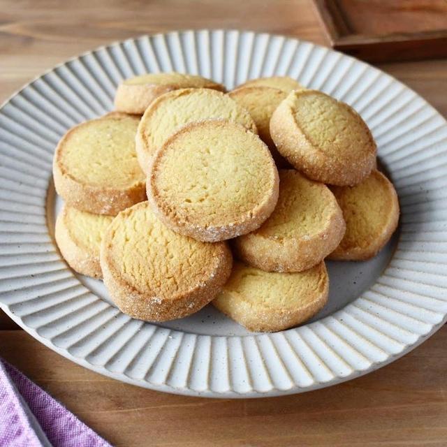 さくほろ♪ずっと作っている【基本のバターサブレ】#クッキー#サブレディアマン