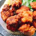 生姜たっぷり☆鶏むねザンギ