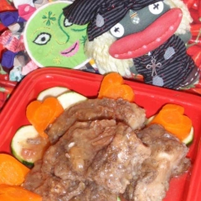赤魚の梅南蛮風&大葉ポテサラ(お家カフェ)