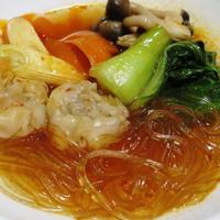 シューマイと春雨のピリ辛スープ鍋<シャンタン旨鍋>