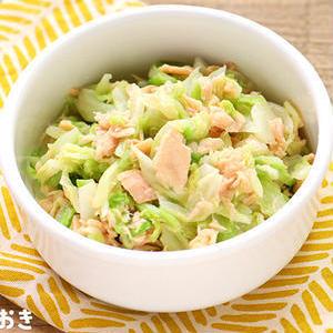 野菜のサブおかずに♪「キャベツ×ツナ缶」で作れるかんたん和え5選