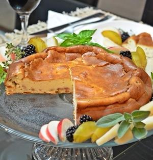 ロレーヌ風チーズケーキ