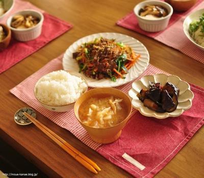 ≪レシピ≫オススメ!ご飯が進みすぎるナスの常備菜と、雷雨の夜の出来事