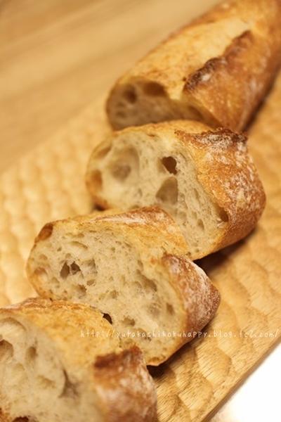 【美味しいパンがあるとラタトゥユ】