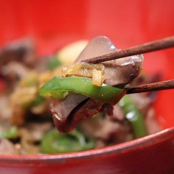★鶏レバふわふわ甘辛煮&鉄板焼きの日(ダイエット休日)