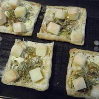 コロコロチーズで油揚げピザ