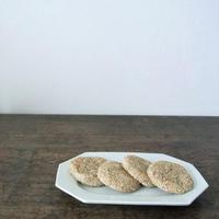 黒豆の白玉ゴマ焼き餅