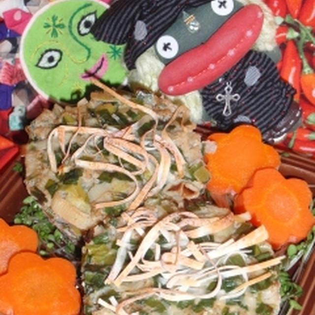 ごま風味の蓮根シュウマイ風&キュウリとハムの棒棒鶏風サラダ(お家カフェ)