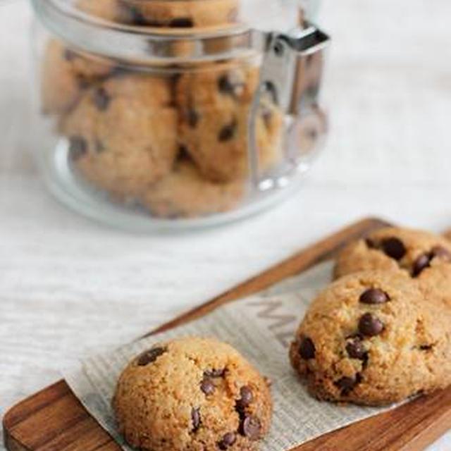 しほさんの「チョコとココナッツのクッキー」とホップス