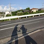 7/21の猛暑の朝ラン(5km)
