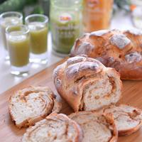 春休み最後の日は子供たちと手作りパン!スムージーと一緒に♡