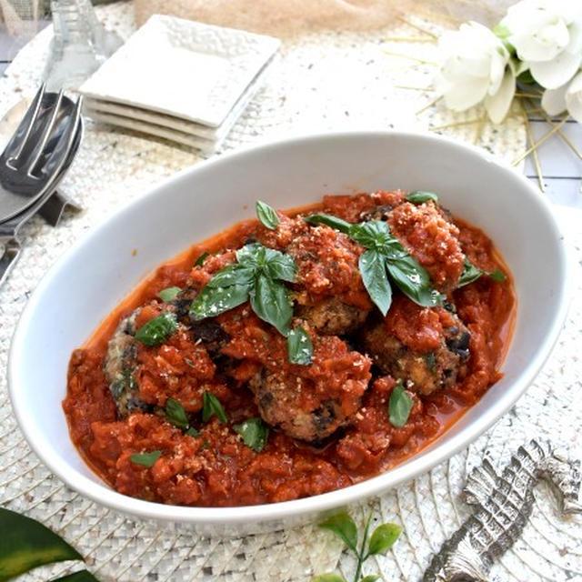 イタリアの家庭料理!なすのポルペッティーニ