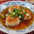 簡単おかず!揚げ里芋の桜えび入り甘酢あんかけレシピ
