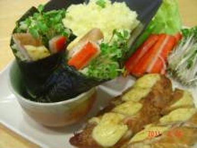 GABAN:カレー風味手巻き寿司